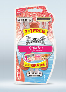 Quattro Titanium Sensitive