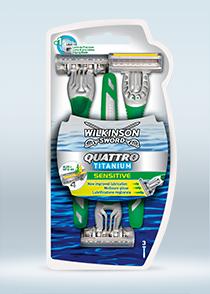 Quattro Titanium Sensitive
