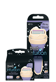 Wilkinson Sword Intuition Dry Skin razor with blades