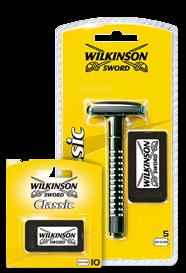 Wilkinson Sword Classic razor with blades